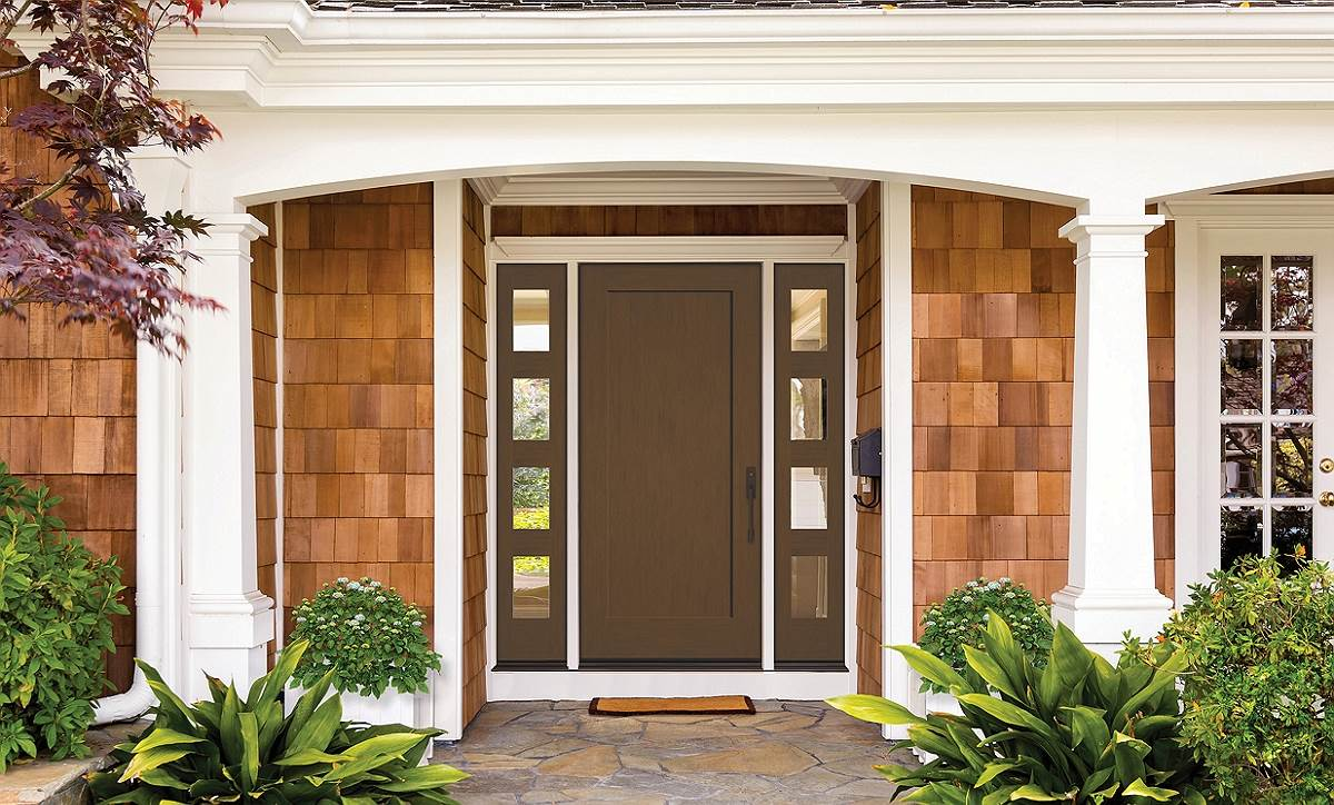 Šarvuotos lauko durys – saugiems ir stilingiems namams